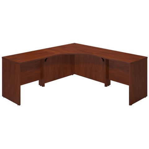 Bush Series C Elite 42W x 42D Corner Desk Shell with (2) 36W Returns, Hansen Cherry SRE067HC ; UPC: 042976021153 ; Image 1