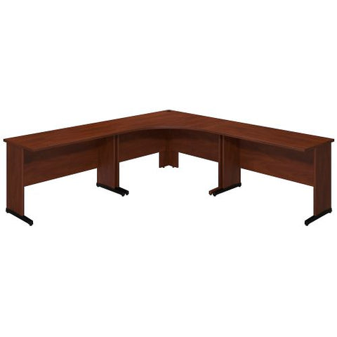 Bush Business Furniture Series C Elite 48W x 48D C Leg Corner Desk with (2) 48W x 24D Desks in Hansen Cherry ; UPC:042976021252 ; Image 1