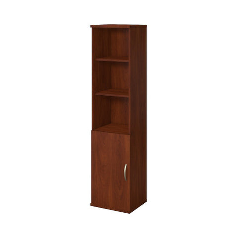 Bush Series C Elite 18W 5 Shelf Bookcase with Doors, Hansen Cherry SRE222HC ; UPC: 042976085667 ; Image 1