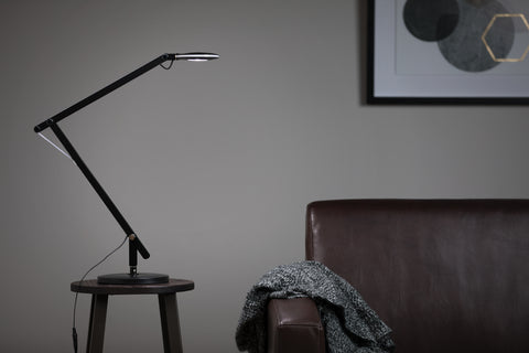 OFM 4020-BLK LED Desk Lamp with 3-in-1 Desk, Clamp and Wall Mount, Black ; UPC: 192767000802 ; Image 12