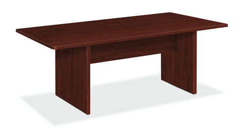 "HON BL Series Office Table, 72""W x 36""D Rectangle, Mahogany (BSXBLC72R) ; UPC: 641128216487 ; Image 1"