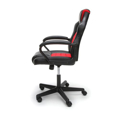 Essentials by OFM ESS-3083 Racing Style Gaming Chair, Red ; UPC: 845123092910 ; Image 5