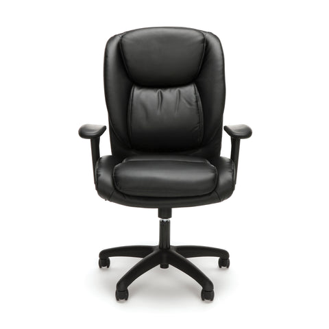 Essentials by OFM ESS-6032 High Back Executive Chair, Black ; UPC: 845123095331 ; Image 2
