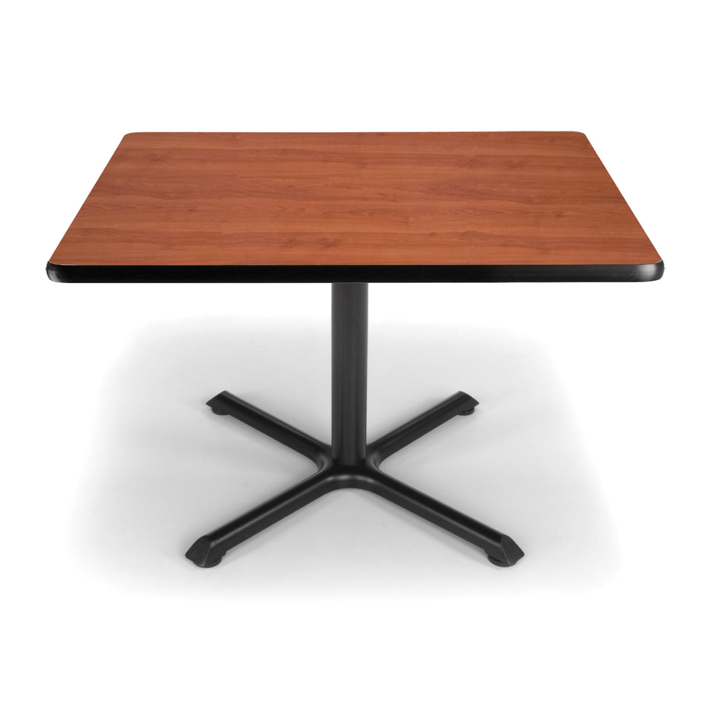 "OFM XT36SQ-CHY Square Multi-Purpose Table, 36"", Cherry ; UPC: 845123031988 ; Image 1"