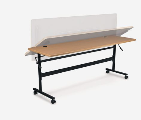 Balt Flipper Training Tables Teak  BLT90093