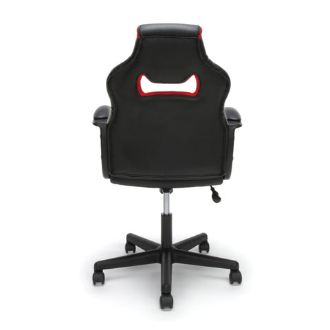 Essentials by OFM ESS-3083 Racing Style Gaming Chair, Red ; UPC: 845123092910 ; Image 3
