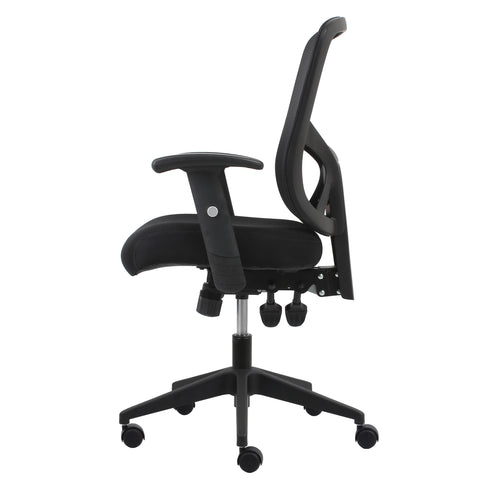 Essentials by OFM ESS-3050 3-Paddle Ergonomic Mesh High-Back Task Chair with Arms and Lumbar Support, Black ; UPC: 089191013815 ; Image 5