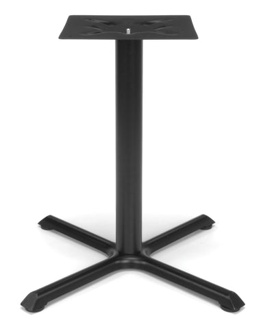 "OFM X-Style Small Base for Model XT Standard Height Multi-Purpose 36"" Tables, Black ; UPC: 845123011386 ; Image 1"