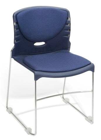 OFM 320-F-804 Stack Chair with Fabric Seat and Back ; UPC: 811588014040 ; Image 1