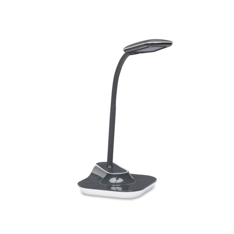 OFM ESS-9001-10PK-GY Essentials LED Desk Lamp with Removable Base and Integrated Desk Clamp, Gray (Pack of 10) ; UPC: 192767000505 ; Image 1