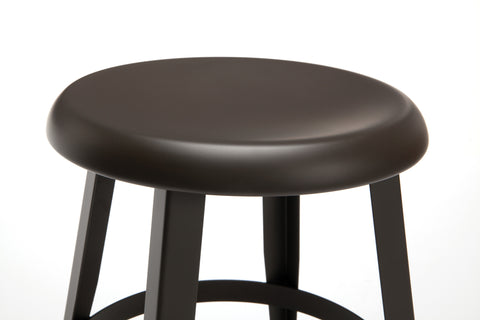 "OFM Core Collection Edge Series 18"" Table Height Metal Stool, in Antique Brown (33918M-ABRN) ; UPC: 192767002424 ; Image 7"