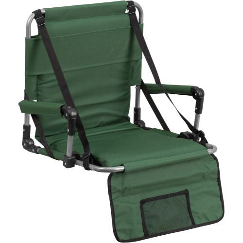 Folding Stadium Chair in Green; (UPC: 889142004783); Green