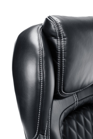 Essentials by OFM ESS-6060 High-Back Racing Style Bonded Leather Executive Chair, Black ; UPC: 845123089354 ; Image 7
