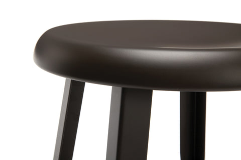 "OFM Core Collection Edge Series 18"" Table Height Metal Stool, in Antique Brown (33918M-ABRN) ; UPC: 192767002424 ; Image 8"