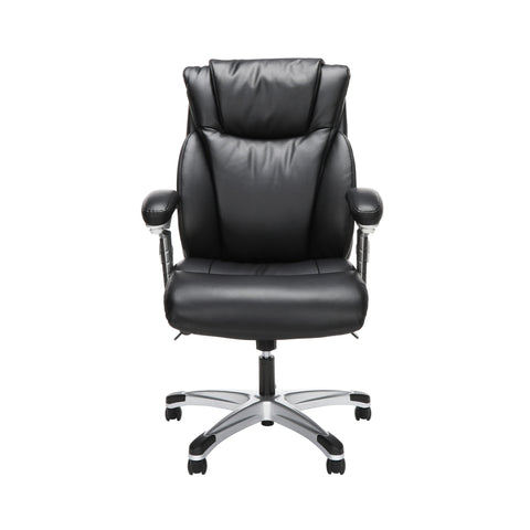 OFM Essentials Series Ergonomic Executive Bonded Leather Office Chair, in Black (ESS-6046-BLK) ; UPC: 192767000291 ; Image 2