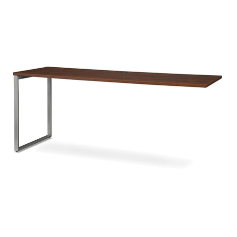 OFM Fulcrum Series 72x24 Credenza Desk, Desk Shell for Office, Cherry (CL-C7224-CHY) ; UPC: 845123097267 ; Image 6