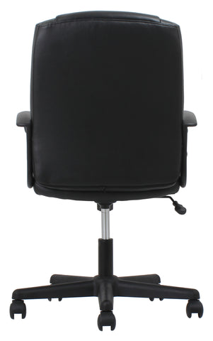 OFM Essentials Collection Executive Office Chair, Bonded Leather, in Black (ESS-6000) ; UPC: 089191013822 ; Image 3