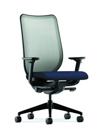 HON Nucleus Task Chair with Mesh Back, in Navy (HN1) ; UPC: 889218263632 ; Image 1