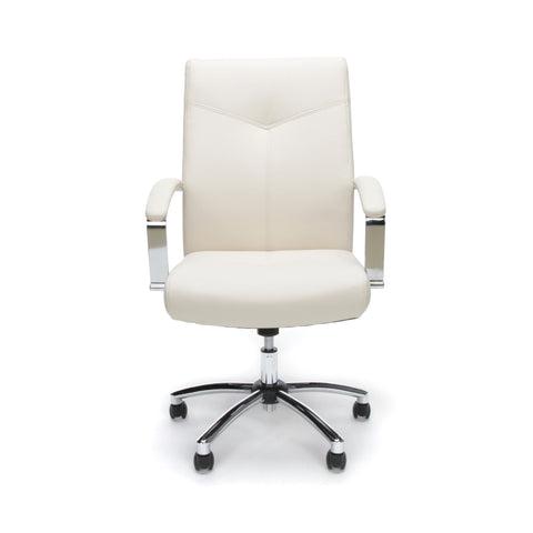 Essentials by OFM E1003 Executive Conference Chair, Cream ; UPC: 845123048436 ; Image 2