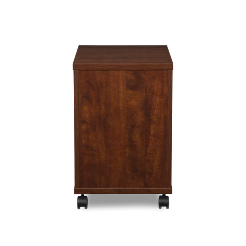 OFM Fulcrum Series Locking Pedestal, Mobile 2-Drawer Filing Cabinet, Cherry (CL-MBF-CHY) ; UPC: 845123097540 ; Image 3