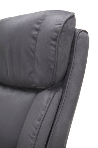 Essentials by OFM ESS-3081 Plush High-Back Microfiber Office Chair, Gray ; UPC: 845123095263 ; Image 7