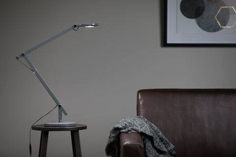 OFM 4020-GRY LED Desk Lamp with 3-in-1 Desk, Clamp, and Wall Mount, Gray ; UPC: 192767000826 ; Image 11