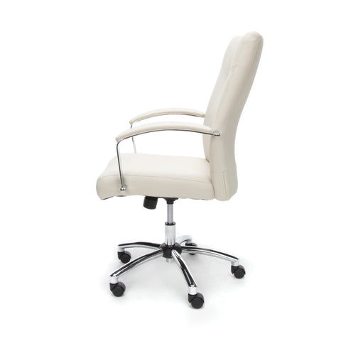 Essentials by OFM E1003 Executive Conference Chair, Cream ; UPC: 845123048436 ; Image 5