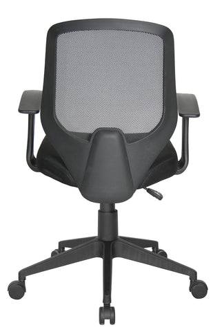 Essentials by OFM E1000 Mesh Swivel Task Chair with Arms, Black ; UPC: 845123025123 ; Image 3