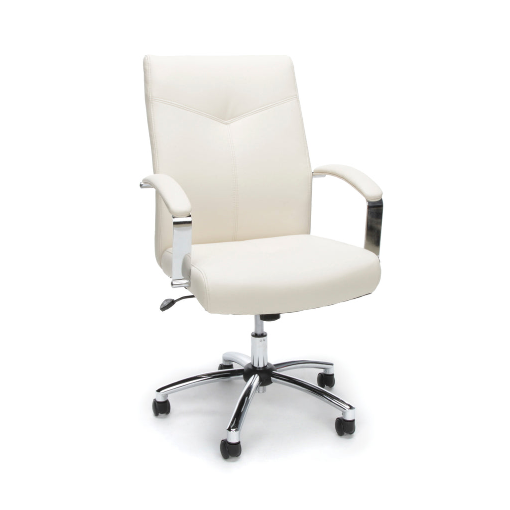 Essentials by OFM E1003 Executive Conference Chair, Cream ; UPC: 845123048436 ; Image 1