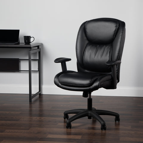 Essentials by OFM ESS-6032 High Back Executive Chair, Black ; UPC: 845123095331 ; Image 10