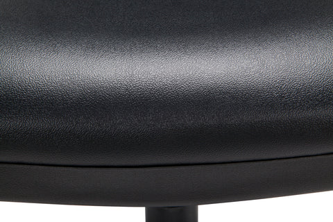 OFM Straton Series Armless Swivel Task Chair, Anti-Microbial/Anti-Bacterial Vinyl, Mid Back, in Black (119-VAM-606) ; UPC: 811588012664 ; Image 10