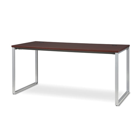 OFM Fulcrum Series 66x30 Desk, Minimalistic Modern Office Desk, Mahogany (CL-D6630-MHG) ; UPC: 845123097175 ; Image 6
