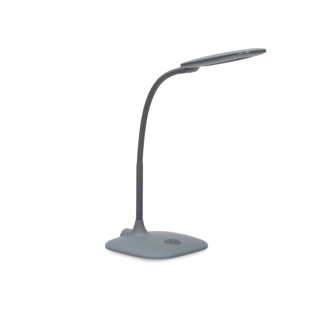OFM ESS-9003-GRY  Essentials LED Desk Lamp with Touch Control, Gray ; UPC: 192767000567 ; Image 1