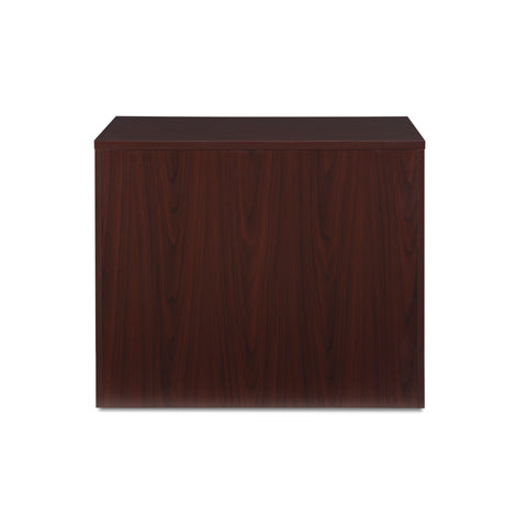 OFM Fulcrum Series Locking Lateral File Cabinet, 2-Drawer Filing Cabinet, Mahogany (CL-L36W-MHG) ; UPC: 845123097571 ; Image 3