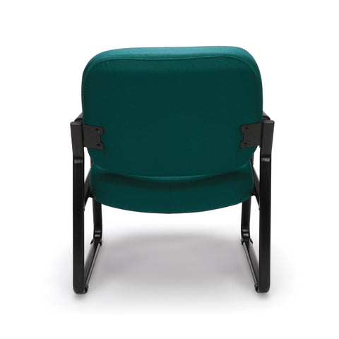OFM Model 407 Fabric Big and Tall Guest and Reception Chair with Arms, Teal ; UPC: 845123030776 ; Image 3