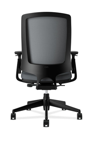 HON Lota Office Chair - Mid Back Mesh Desk Chair or Conference Room Chair, Charcoal (H2281) ; UPC: 881728407841 ; Image 3