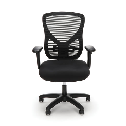 OFM Essentials Series Ergonomic Mesh Office Chair, in Black (ESS-3051) ; UPC: 192767000277 ; Image 2