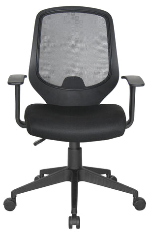 Essentials by OFM E1000 Mesh Swivel Task Chair with Arms, Black ; UPC: 845123025123 ; Image 2
