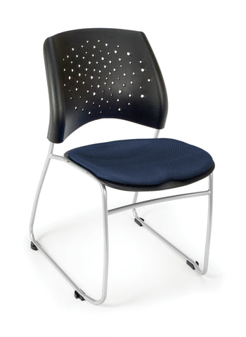 OFM 325-2203 Stars Stack Chair with Fabric Seat ; UPC: 845123004371 ; Image 1