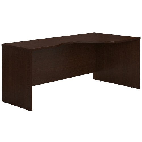 Bush Series C 72W x 24 to 36D Right Corner Desk Shell, Mocha Cherry WC12923 ; UPC: 042976129231 ; Image 1