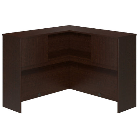 Bush Series C Elite 48W Corner Hutch, Mocha Cherry WC12945 ; UPC: 042976497750 ; Image 1