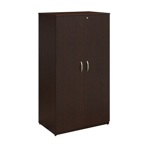 Bush Series C Elite 36W Storage Wardrobe Tower, Mocha Cherry WC12957K ; UPC: 042976497026 ; Image 1