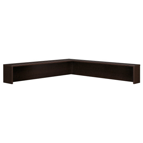 Bush Series C Reception L-Shelf, Mocha Cherry WC12976 ; UPC: 042976129767 ; Image 1
