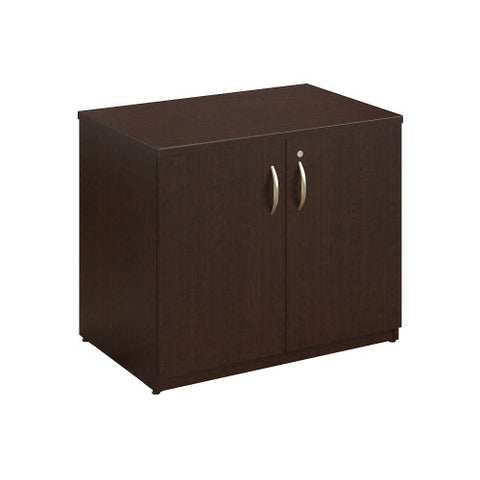Bush Series C Elite 36W Storage Cabinet Assembled, Mocha Cherry WC12998SU ; UPC: 042976497040 ; Image 1
