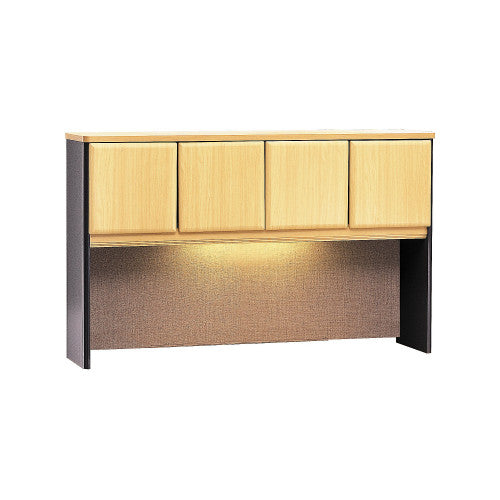 Bush Series A 60W Hutch, Beech WC14361P ; UPC: 042976143619 ; Image 1