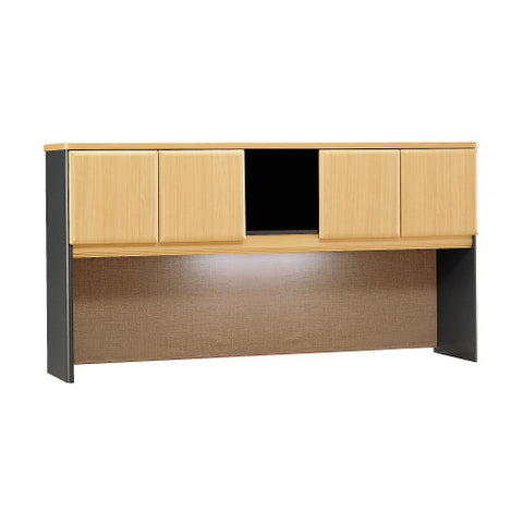 Bush Series A 72W Hutch, Beech WC14373P ; UPC: 042976143732 ; Image 1