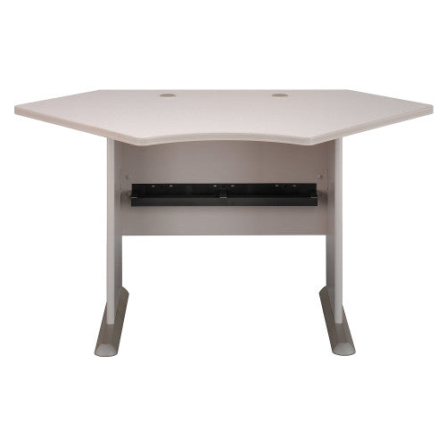 Bush Series A 42W Corner Desk, Pewter WC14542 ; UPC: 042976145415 ; Image 1