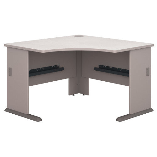 Bush Series A 48W Corner Desk, Pewter WC14566 ; UPC: 042976145668 ; Image 1