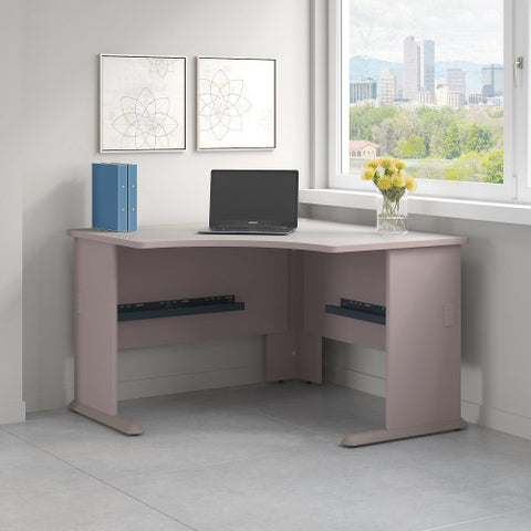Bush Series A 48W Corner Desk, Pewter WC14566 ; UPC: 042976145668 ; Image 2