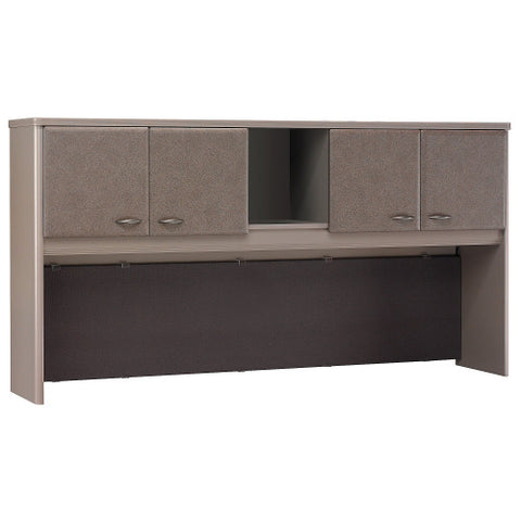 Bush Series A 72W Hutch, Pewter WC14573P ; UPC: 042976145736 ; Image 1